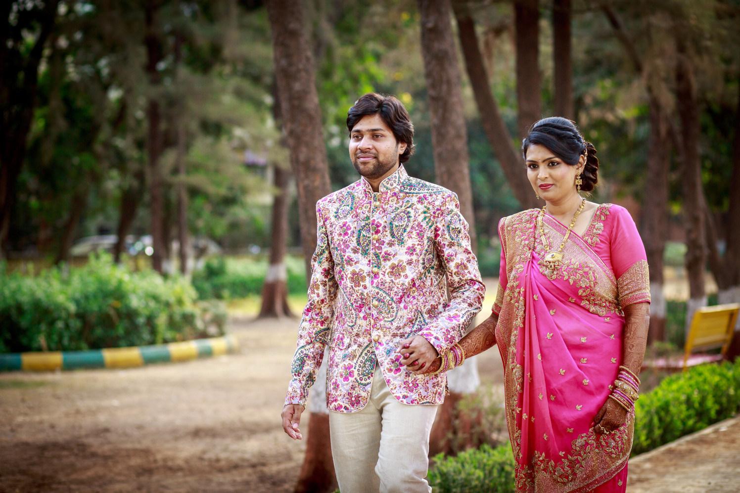 Bride and Groom Shot by Dharmesh Chawda Wedding-photography | Weddings Photos & Ideas