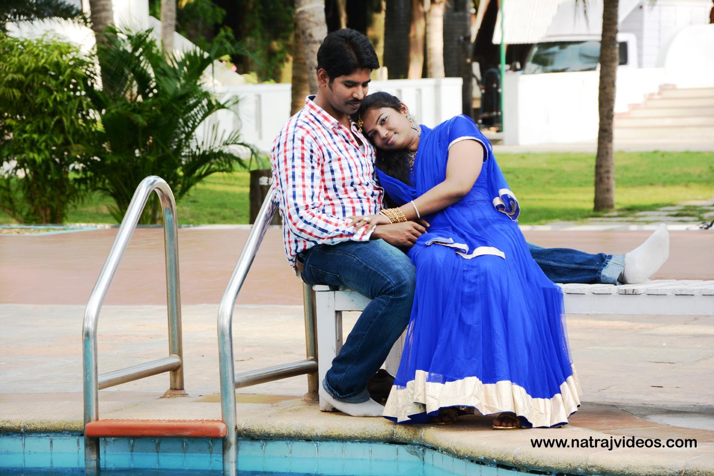 Pool Side Pre-Wedding Shoot by Natraj Videos Wedding-photography | Weddings Photos & Ideas