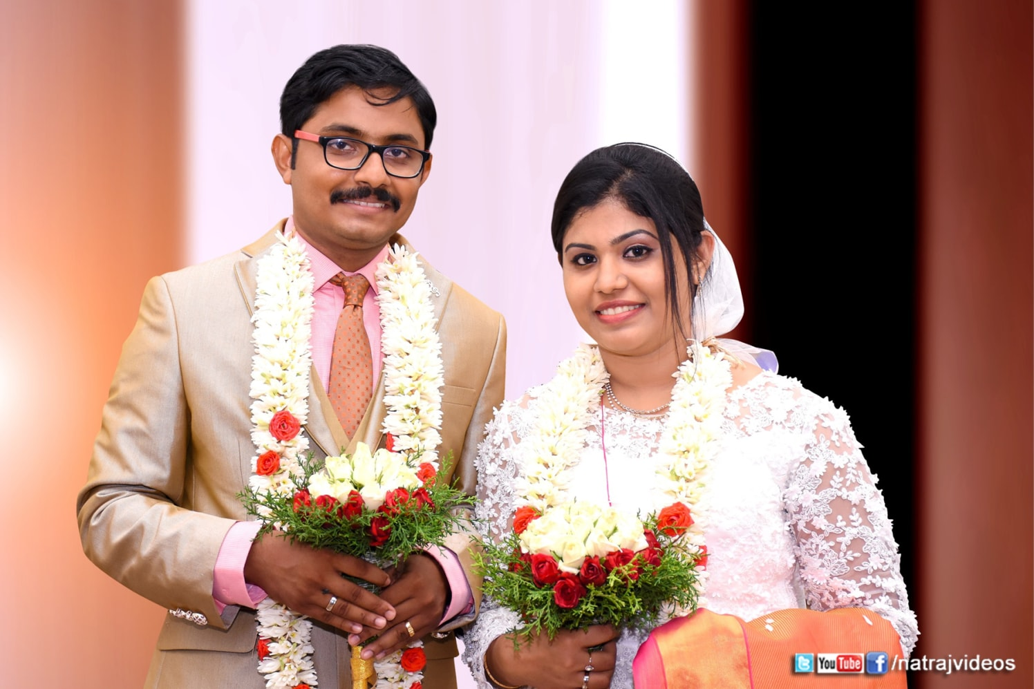 Christian Bride and Groom by Natraj Videos Wedding-photography | Weddings Photos & Ideas