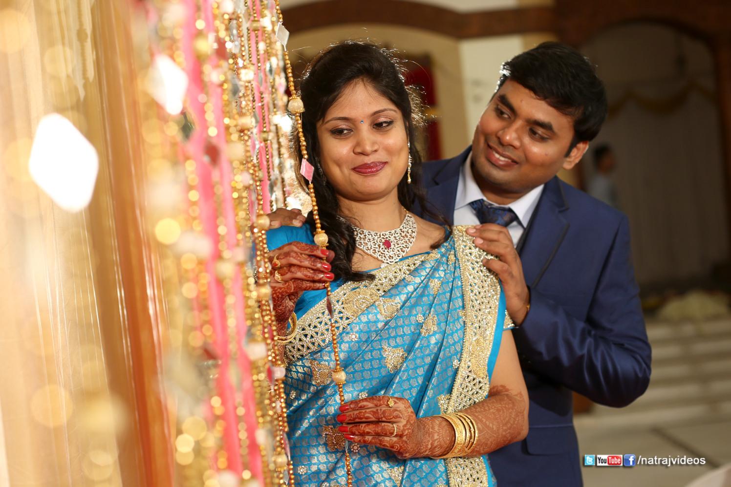 Romantic Bride and Groom Pose by Natraj Videos Wedding-photography   Weddings Photos & Ideas