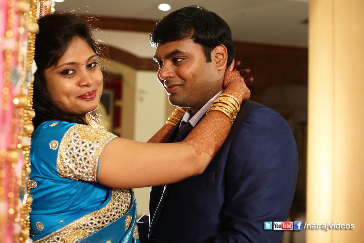 Romantic Bride and Groom Pose by Natraj Videos Wedding-photography | Weddings Photos & Ideas