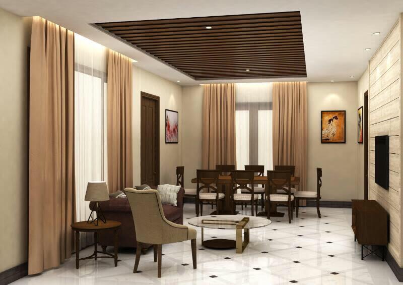 Dining Room Interior Ideas by Deepanshu Prasad Dining-room Contemporary | Interior Design Photos & Ideas