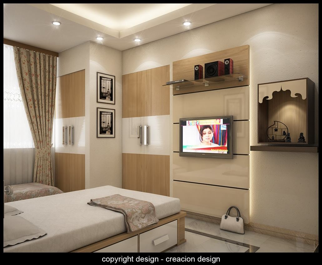 3D Design Od Bedroom by Deepanshu Prasad Bedroom Modern | Interior Design Photos & Ideas
