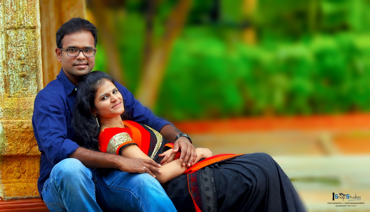 Romantic Pre-Wedding Shoot by Pushpak Inabathini Wedding-photography | Weddings Photos & Ideas