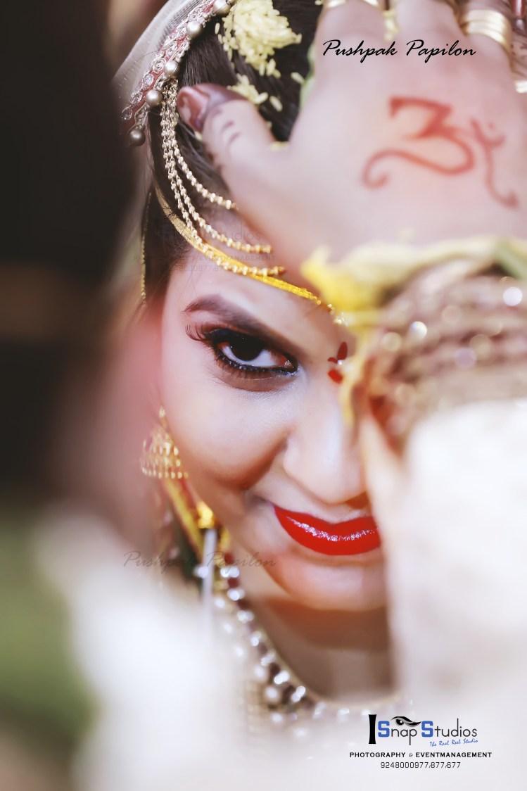 Bridal Shot by Pushpak Inabathini Wedding-photography | Weddings Photos & Ideas