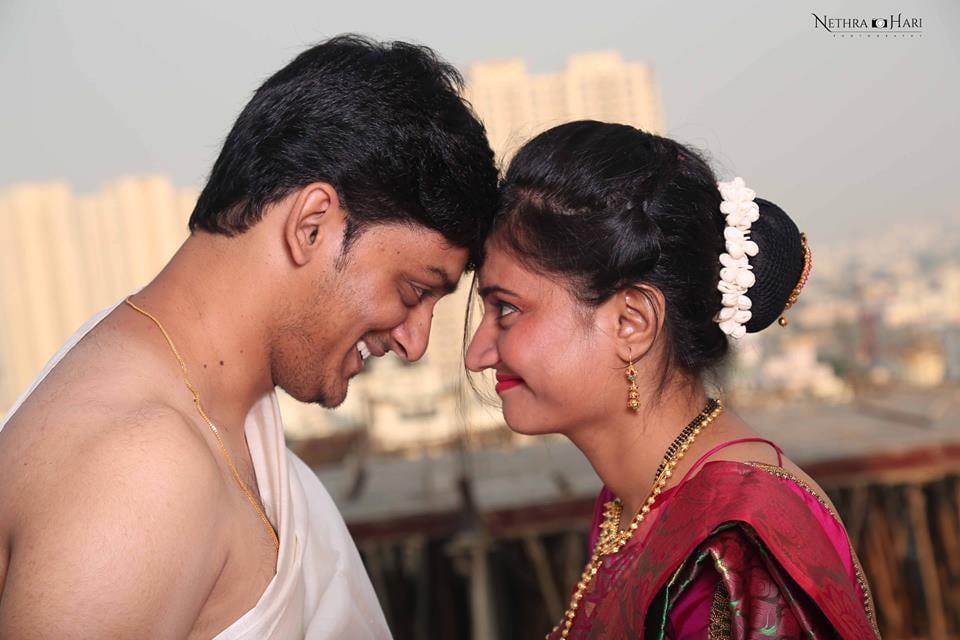 Romantic Bride and Groom Shot by Nethra Hari Photography Wedding-photography | Weddings Photos & Ideas