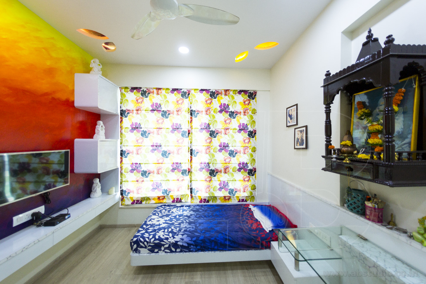 Rainbow in Your Room by Ankit  Gandhi Contemporary | Interior Design Photos & Ideas