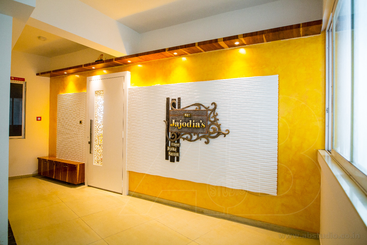 Because Yellow Is The Color of Joy by Ankit  Gandhi Contemporary   Interior Design Photos & Ideas