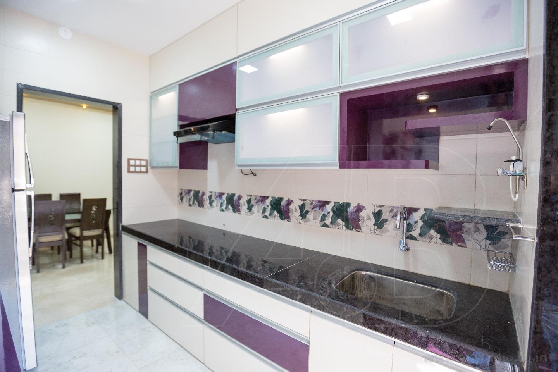 Simple And Subtle Modular Kitchen by Ankit  Gandhi Contemporary | Interior Design Photos & Ideas
