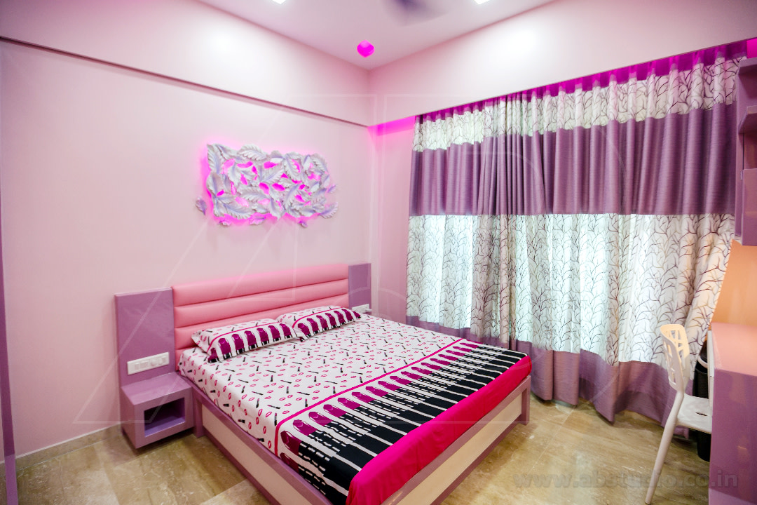 Pink Blossom In The Room by Ankit  Gandhi Contemporary | Interior Design Photos & Ideas