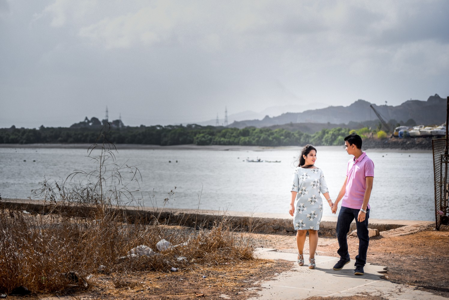 Pre-Wedding Shoot By Lake by ORDUO PRODUCTIONS PVT. LTD Wedding-photography | Weddings Photos & Ideas