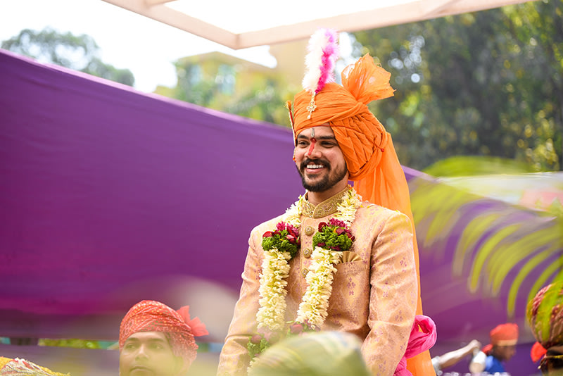Groom Entry Shot by ORDUO PRODUCTIONS PVT. LTD Wedding-photography | Weddings Photos & Ideas
