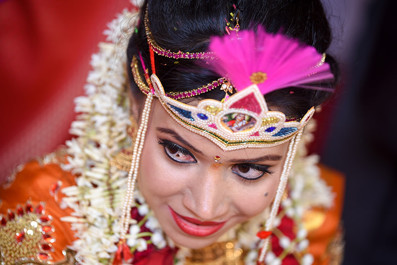 Bride Portrait Shot by ORDUO PRODUCTIONS PVT. LTD Wedding-photography | Weddings Photos & Ideas