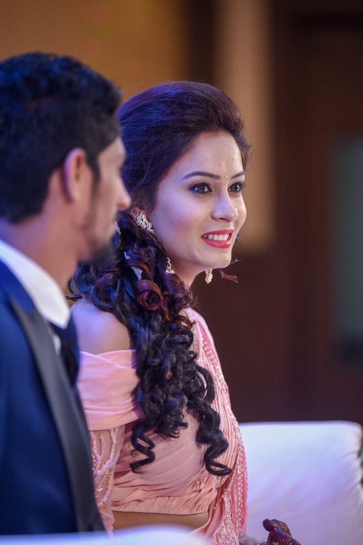 Bride During Her Reception by ORDUO PRODUCTIONS PVT. LTD Wedding-photography | Weddings Photos & Ideas
