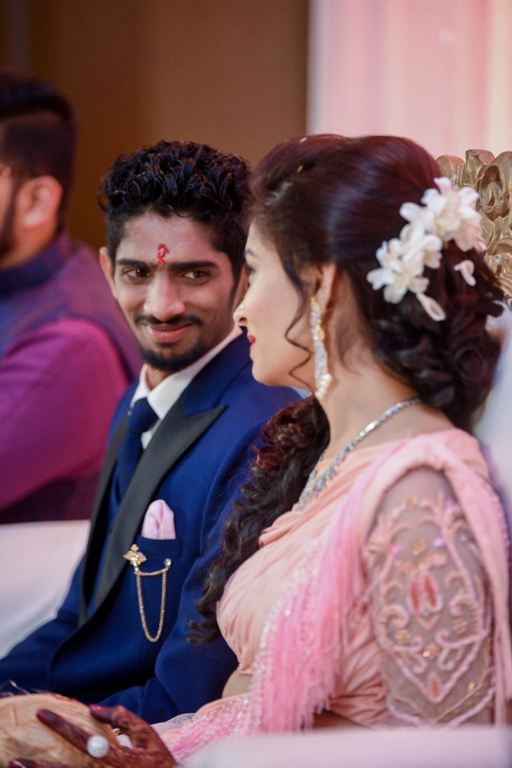 Groom During Reception by ORDUO PRODUCTIONS PVT. LTD Wedding-photography   Weddings Photos & Ideas