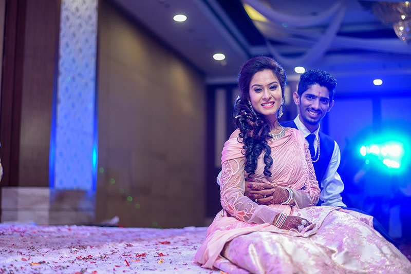 Bride and Groom Pose by ORDUO PRODUCTIONS PVT. LTD Wedding-photography | Weddings Photos & Ideas