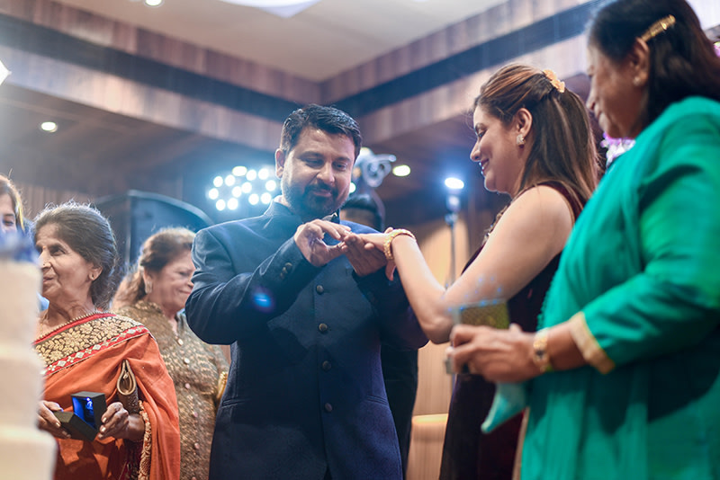 Bride and Groom During Engagement by ORDUO PRODUCTIONS PVT. LTD Wedding-photography | Weddings Photos & Ideas