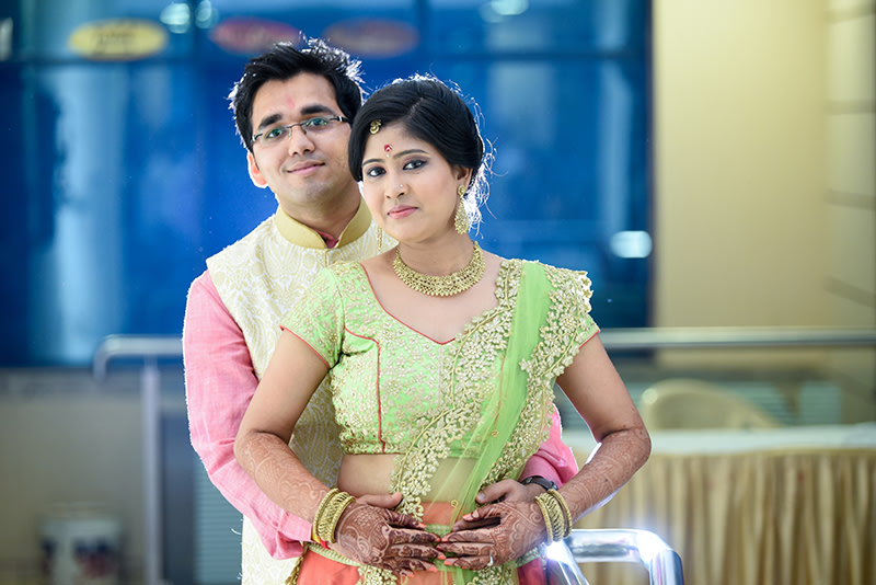 Bride and Groom During Reception by ORDUO PRODUCTIONS PVT. LTD Wedding-photography | Weddings Photos & Ideas