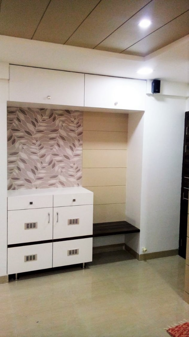 Floral Cabinets by Amith Kumar Open-spaces Contemporary   Interior Design Photos & Ideas