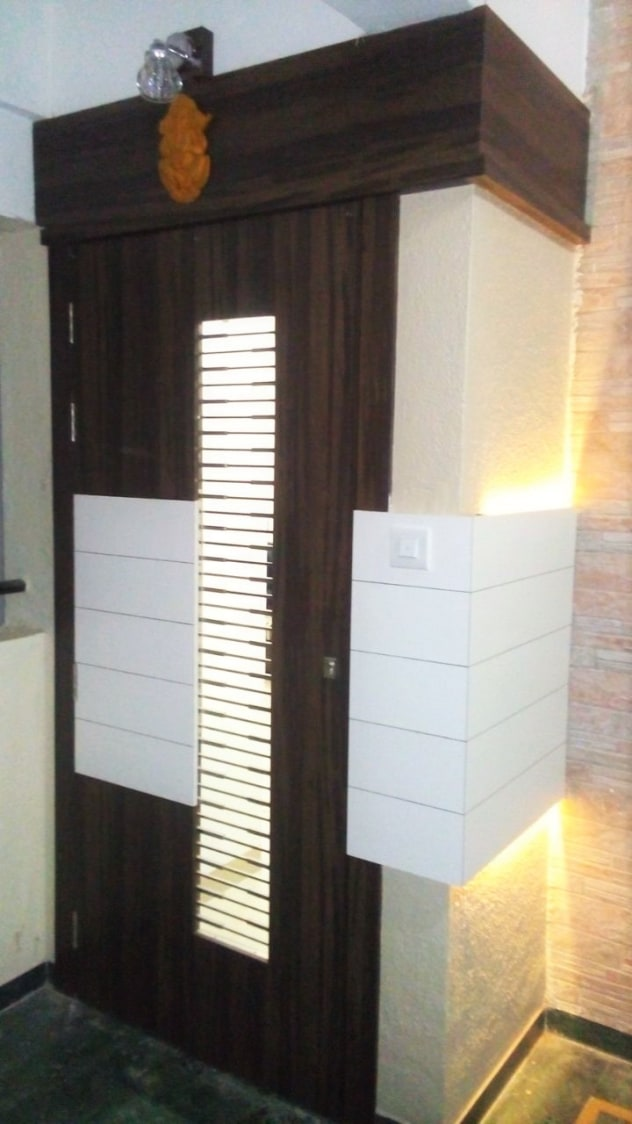 Entrance Door Ideas by Amith Kumar Indoor-spaces Modern | Interior Design Photos & Ideas