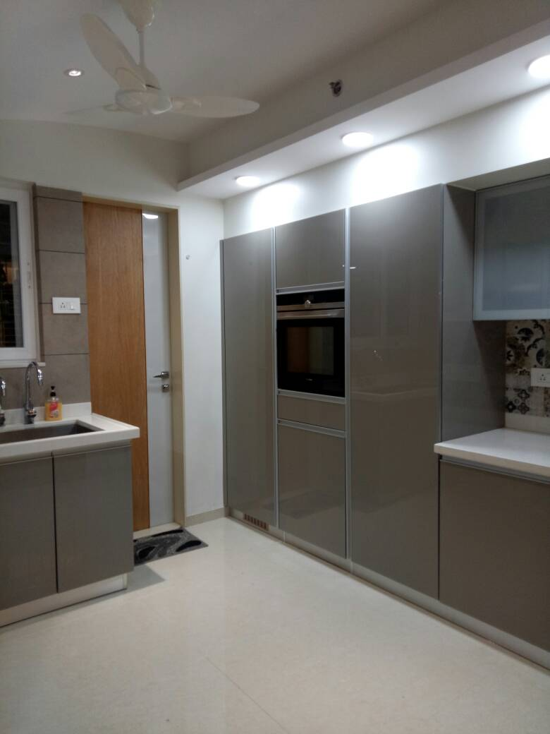 OTG Cabinets by Amith Kumar Modular-kitchen Contemporary | Interior Design Photos & Ideas