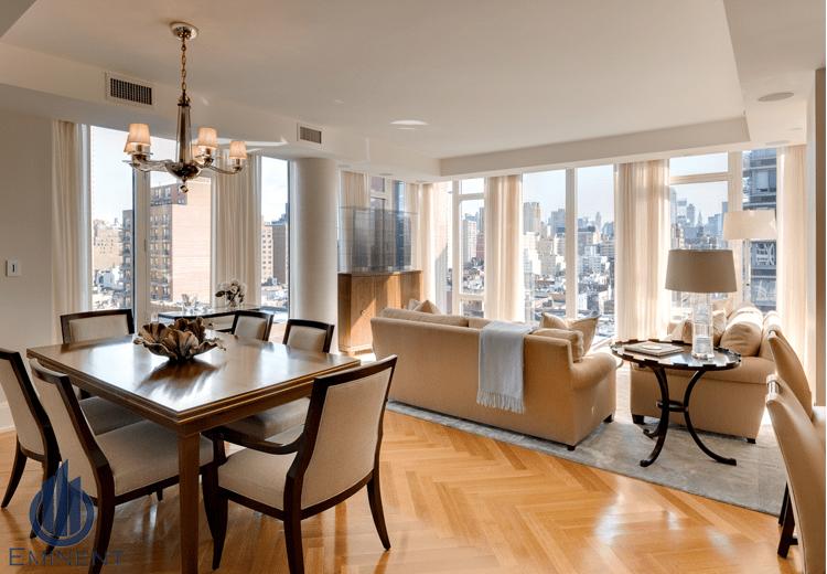 A Subtle City View by Shyam Gupta Dining-room Modern   Interior Design Photos & Ideas