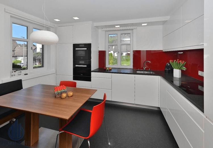 A Clean Cook-In by Shyam Gupta Modular-kitchen Modern | Interior Design Photos & Ideas