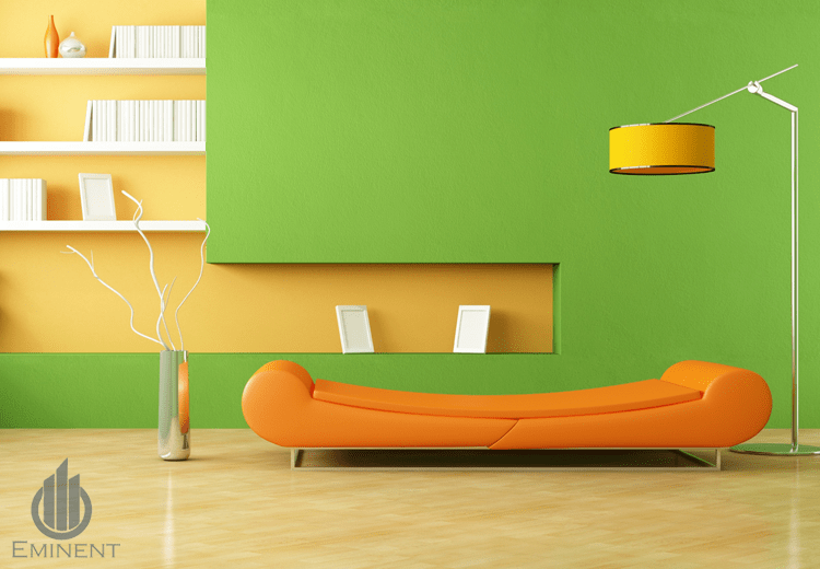 A Color Blast! by Shyam Gupta Living-room Contemporary | Interior Design Photos & Ideas