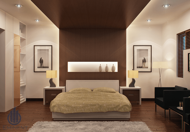 Beige and Browns by Shyam Gupta Bedroom Modern | Interior Design Photos & Ideas