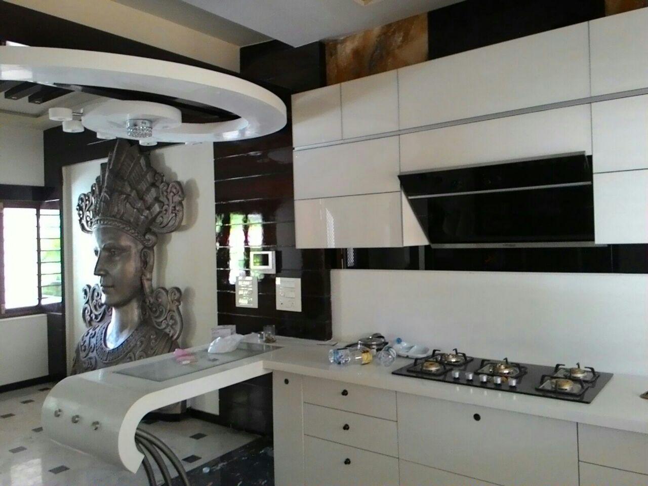 Spiritual Kitchen by Madhuri Rajkumar Contemporary | Interior Design Photos & Ideas