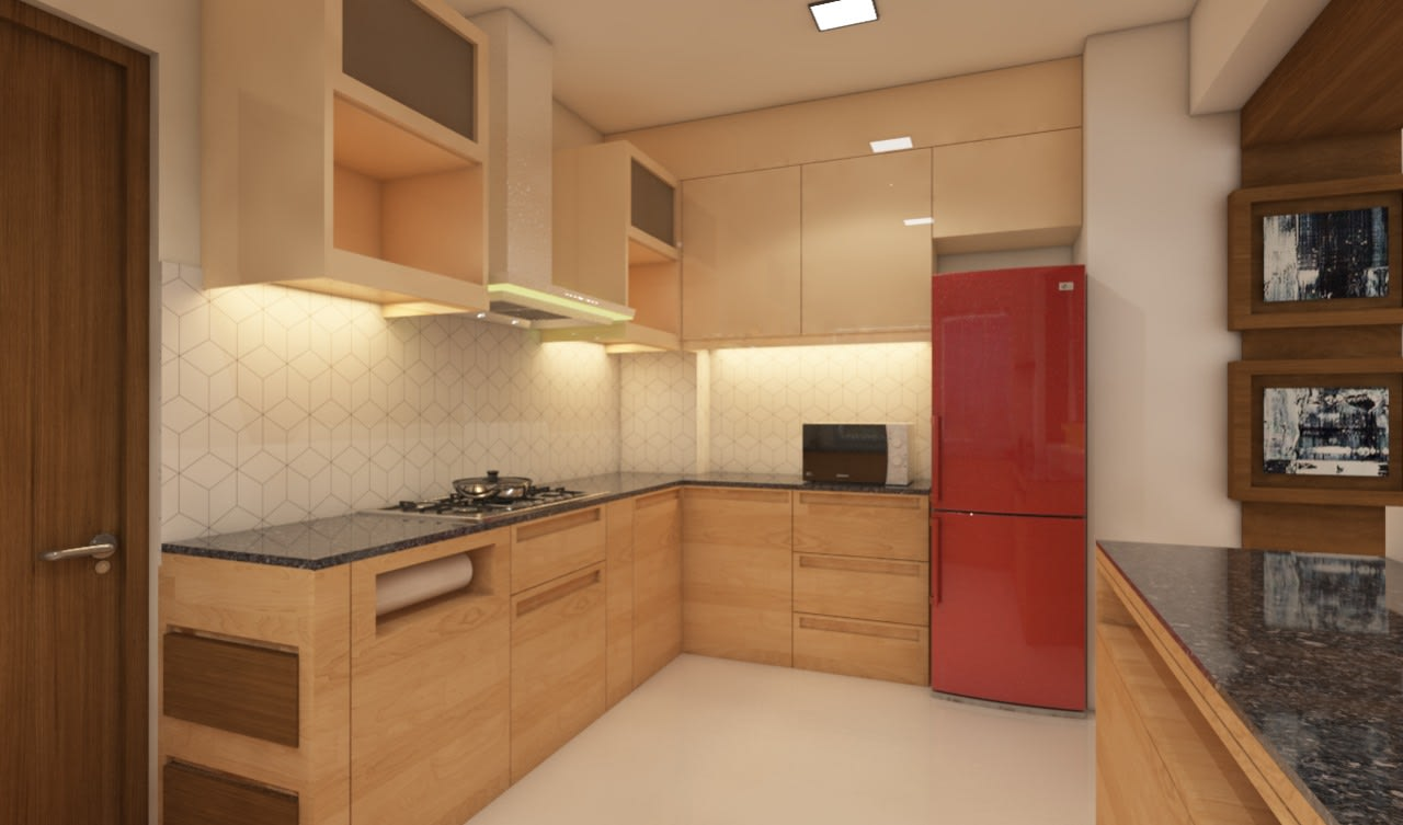 Modular Kitchen by Swaroopa Ekbote Modern | Interior Design Photos & Ideas