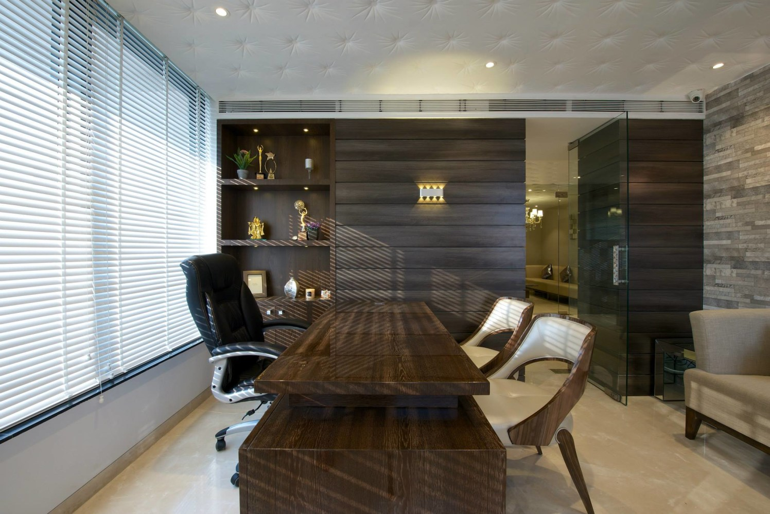 Flawless work spot by Rohit Gir Contemporary   Interior Design Photos & Ideas