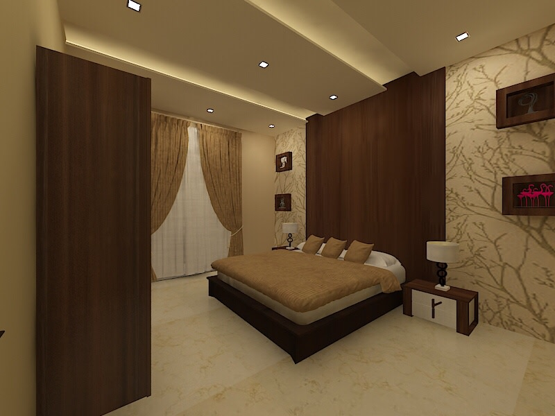 Bedtime by Chaitanya Challa Modern | Interior Design Photos & Ideas