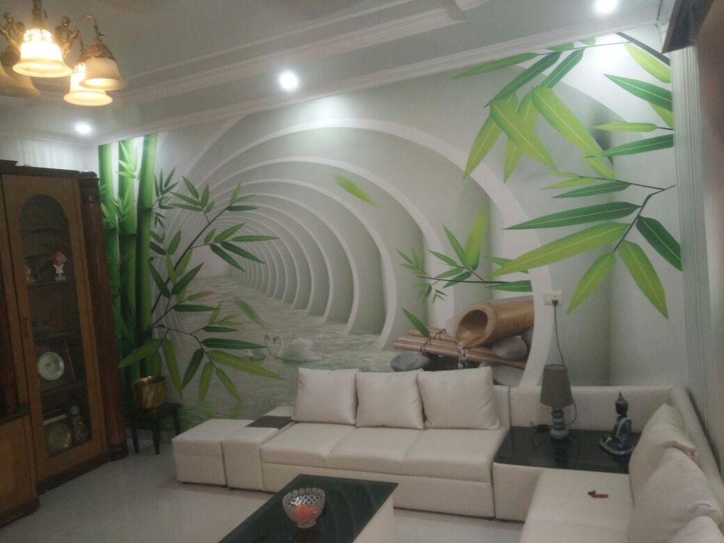 The Green Aurora by Wall Designs Modern | Interior Design Photos & Ideas