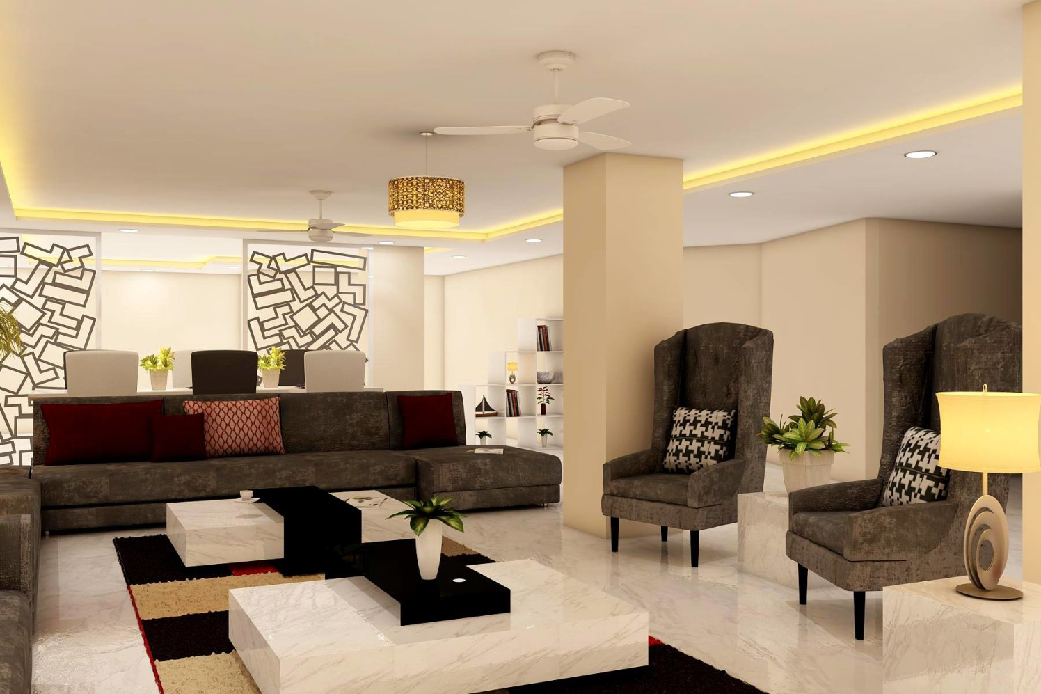 Caramel Cocktail by Wall Designs Contemporary | Interior Design Photos & Ideas