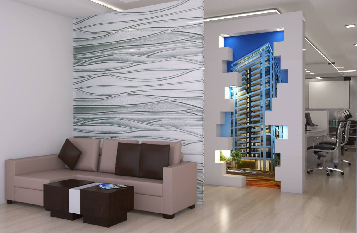 Silver Alley by Wall Designs Contemporary | Interior Design Photos & Ideas