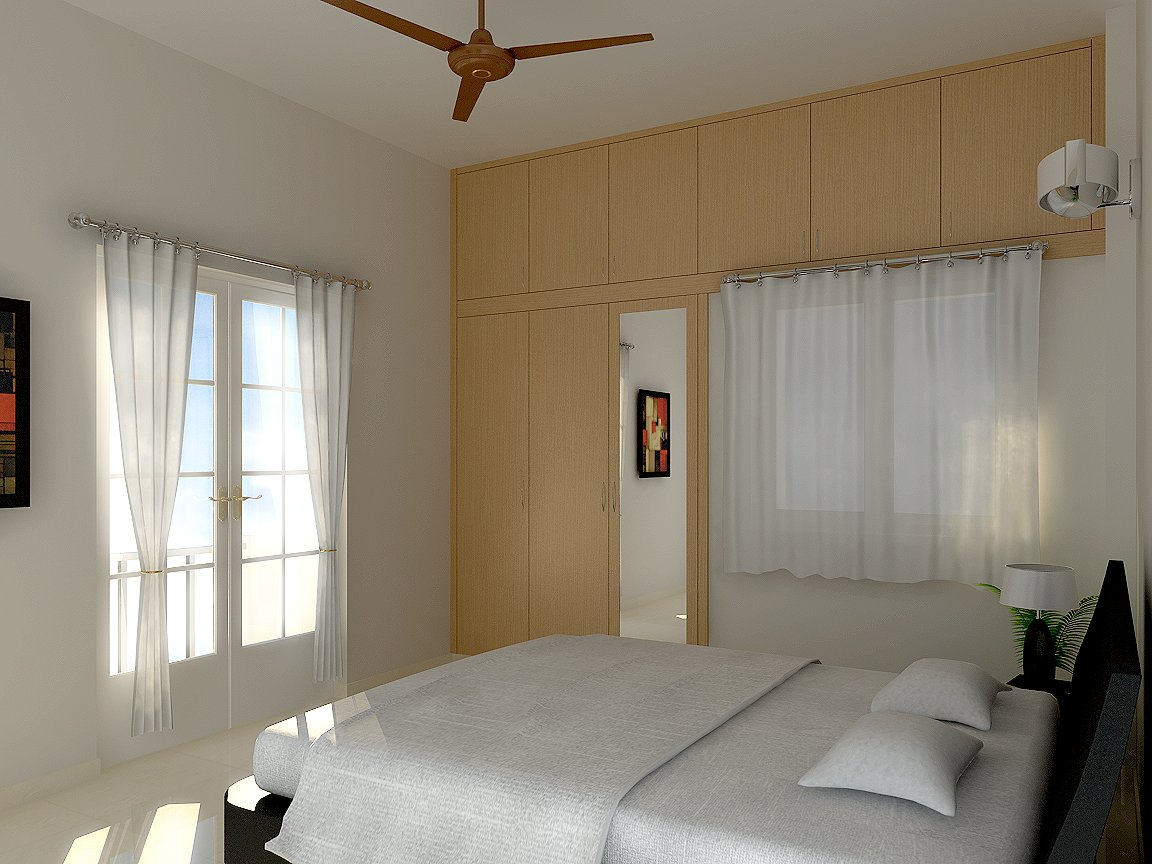 Breezy Escape by Eastmaan Interior Bedroom Contemporary | Interior Design Photos & Ideas