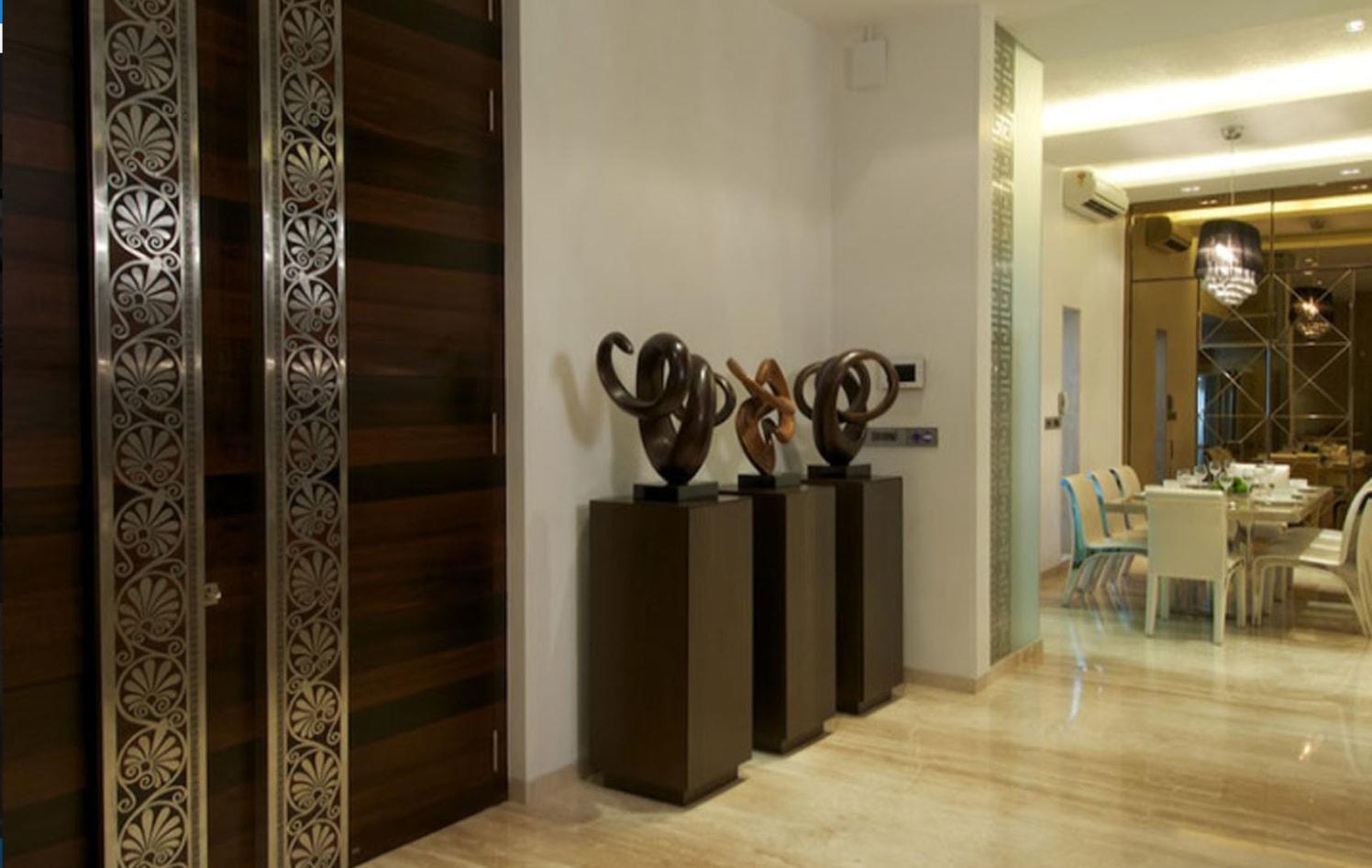 Knock on! by Vinod Kalburgi Modern   Interior Design Photos & Ideas