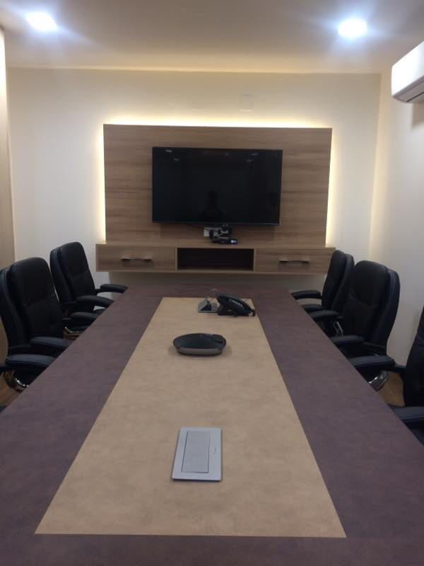 Conference Room by Shubham Pahwa Modern | Interior Design Photos & Ideas