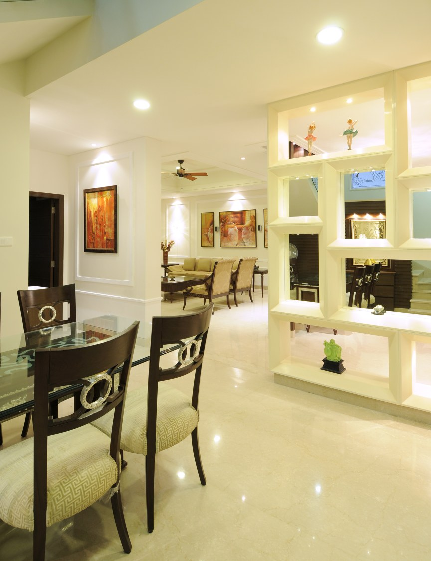 Living Room With Pale Shade Interior by Nandigam Harish Living-room Modern | Interior Design Photos & Ideas