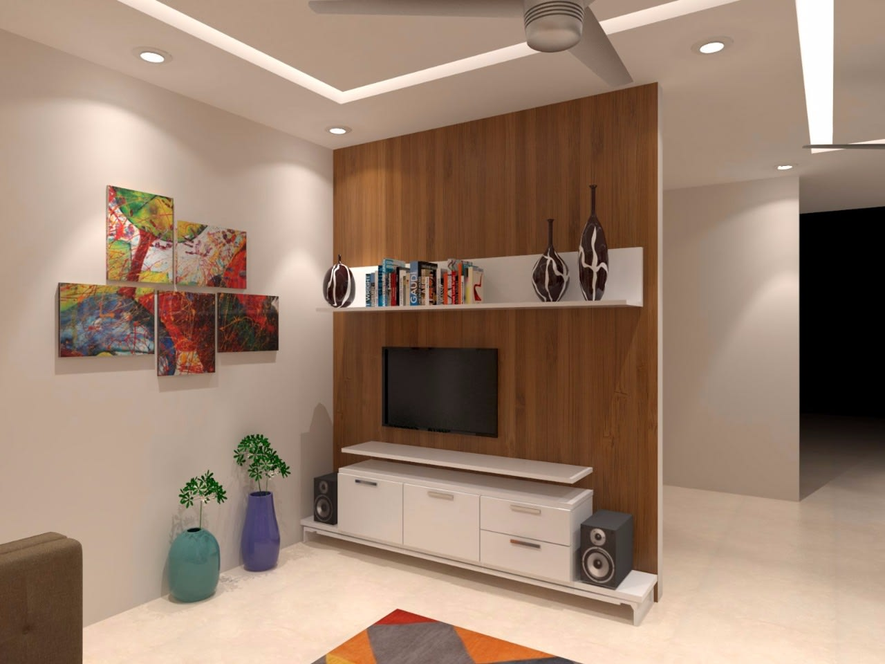 Chocolate and cream by Lalit Kumar Modern | Interior Design Photos & Ideas