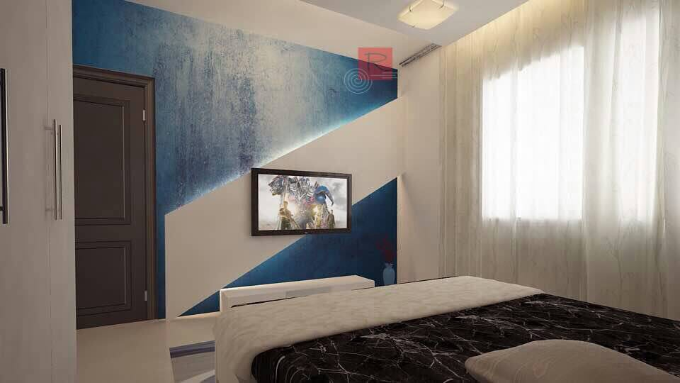 Midnight Blue by Krishnan A Modern   Interior Design Photos & Ideas