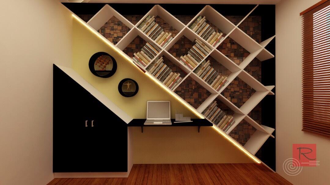 Working Space by Krishnan A Modern | Interior Design Photos & Ideas
