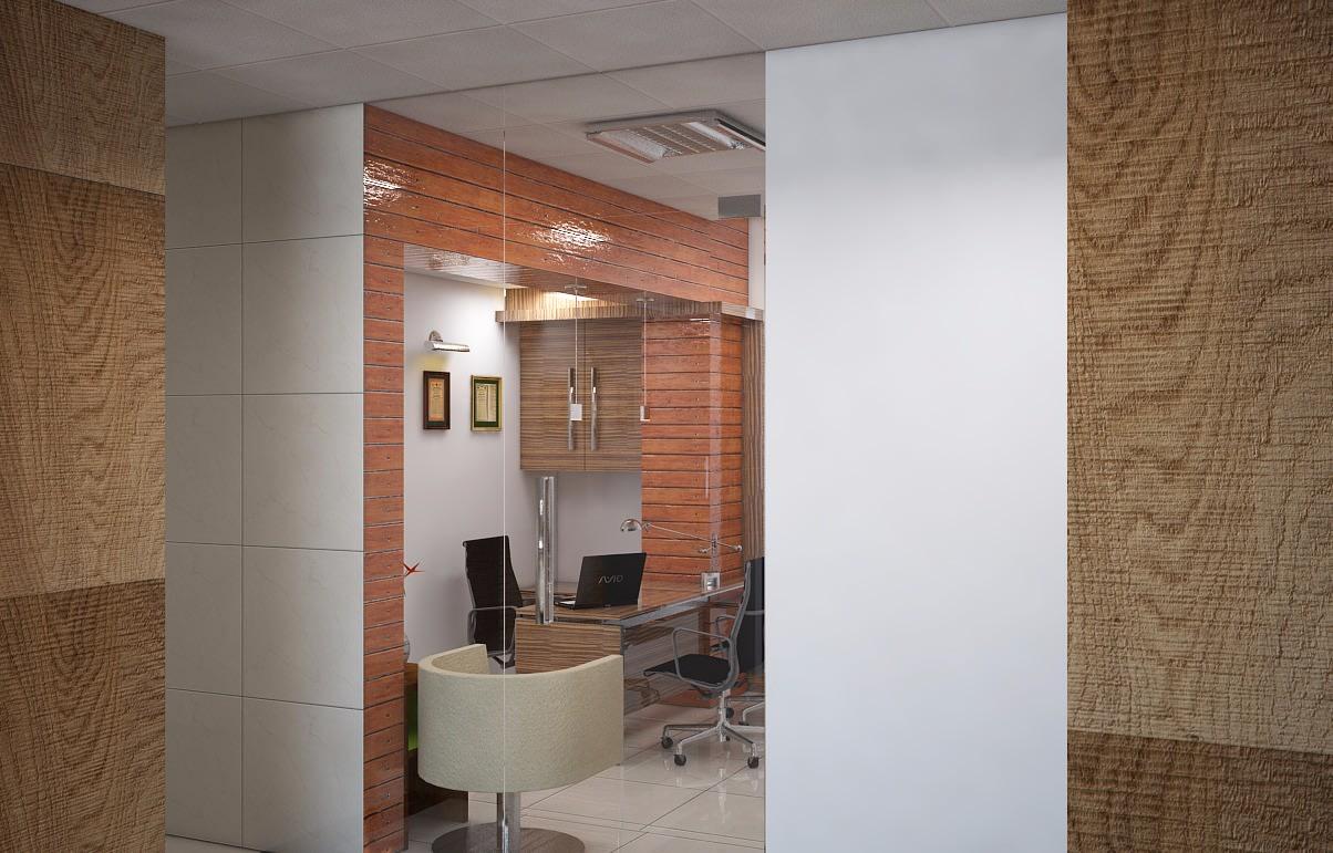 Office Entrance by Arun Kumar Singh Tomar