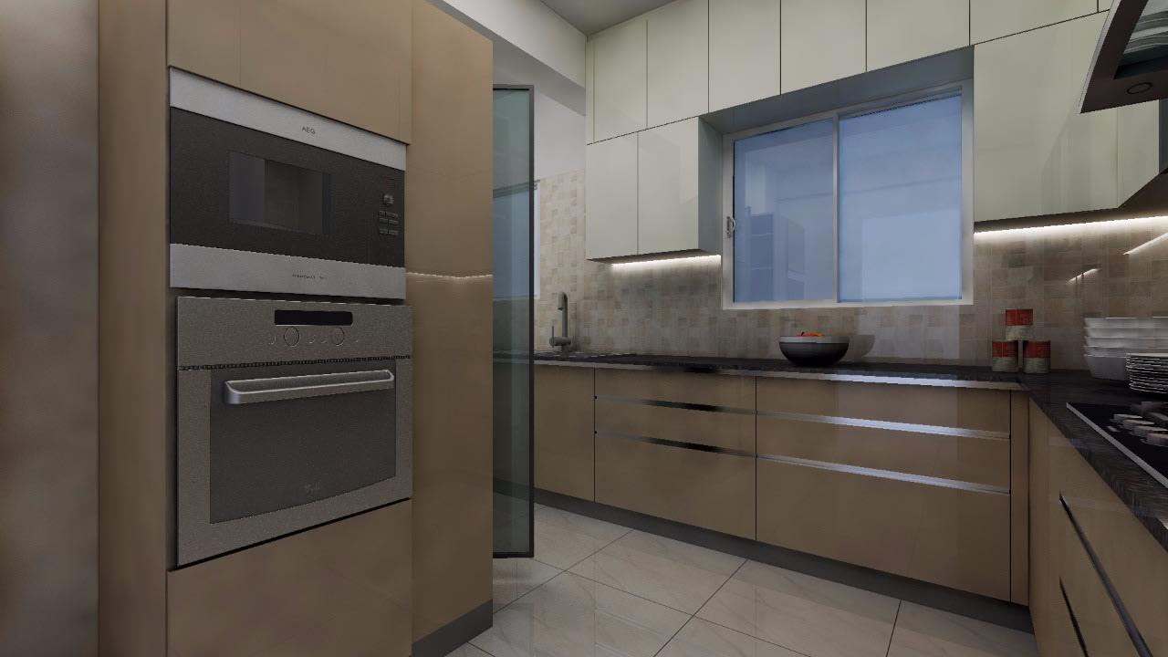 Marvelous Kitchen space by Shwetha Modern | Interior Design Photos & Ideas