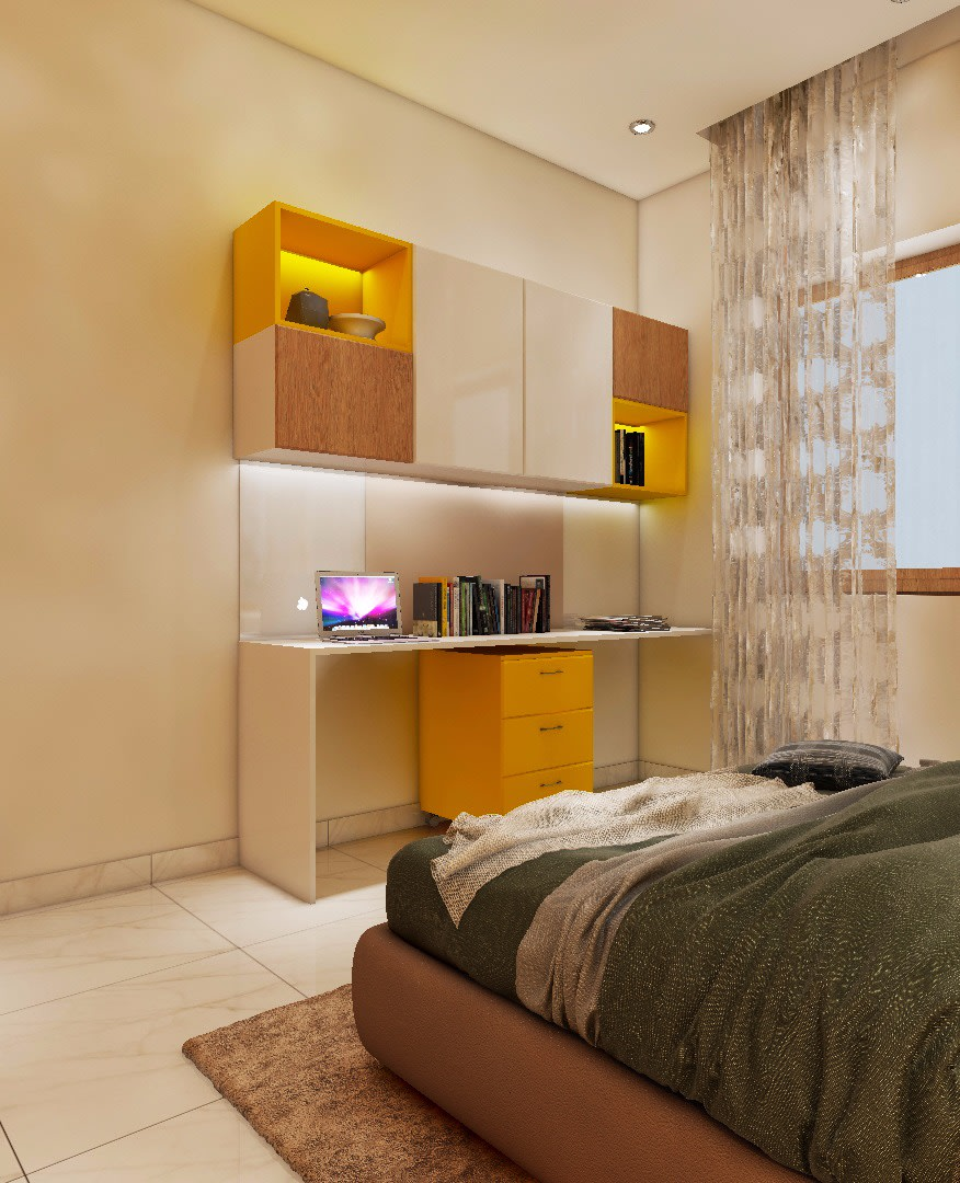 The Color Theory by Shwetha Contemporary | Interior Design Photos & Ideas