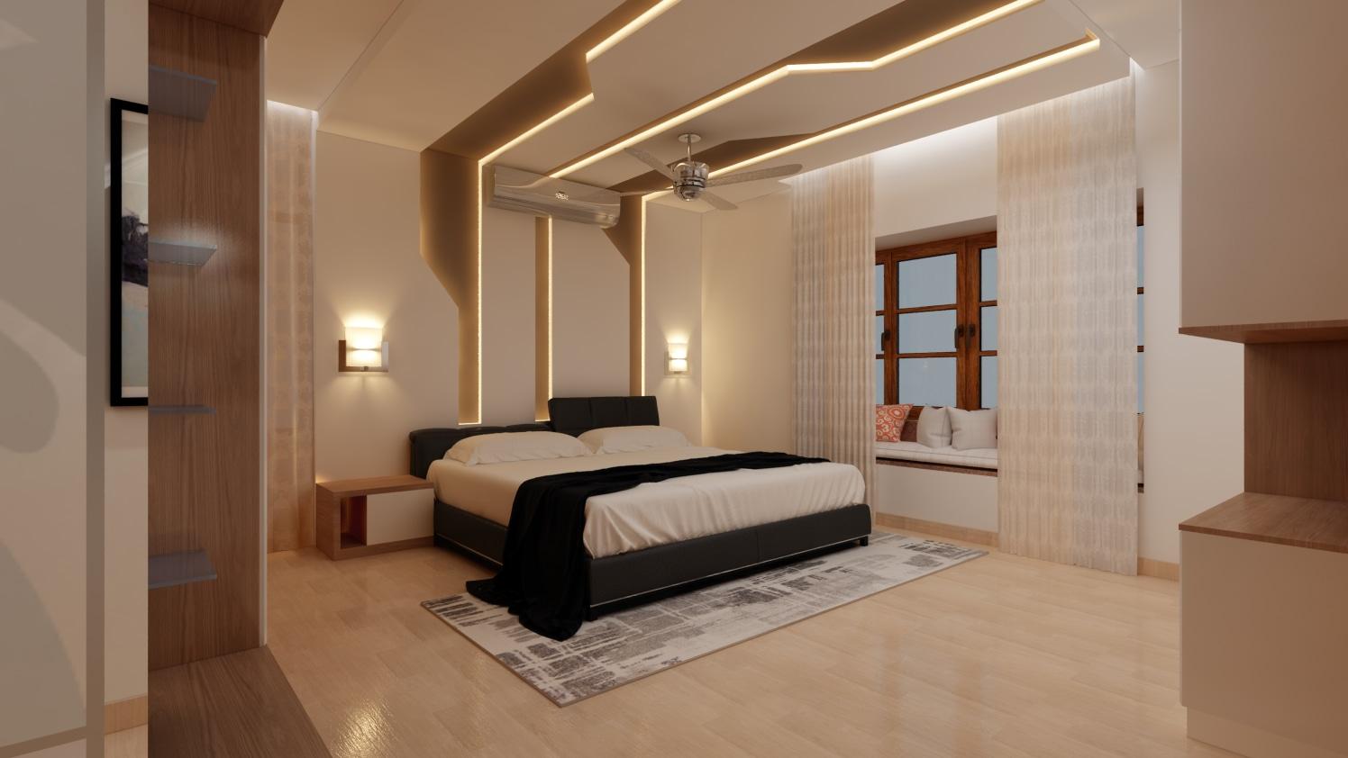 Luxurious Living by Shwetha Modern | Interior Design Photos & Ideas