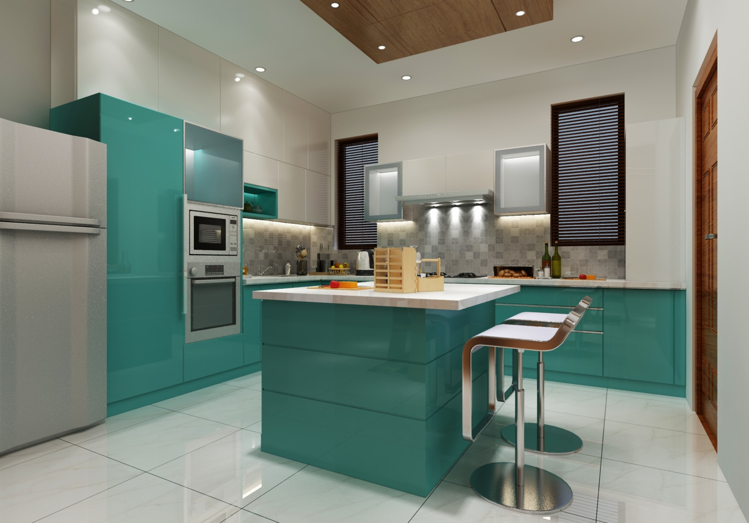 Cook with style by Shwetha Modern | Interior Design Photos & Ideas