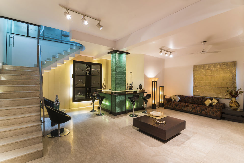 Contemporary Living Room by Rahul Sharma Contemporary | Interior Design Photos & Ideas