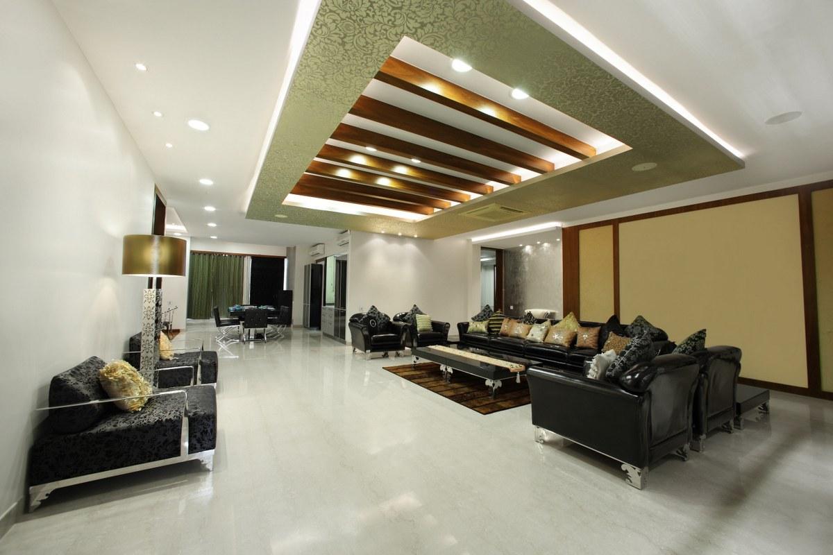Airy Living by Roshan Modern | Interior Design Photos & Ideas